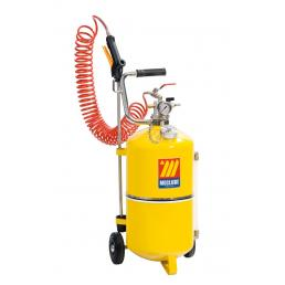 MECLUBE 050-1520-000 - POLISHED STEEL PRESSURE SPRAYER 24 L