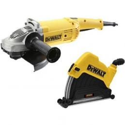 DWE492GK-QS  Angle grinder 230mm 2200w + Suction Hood 230mm