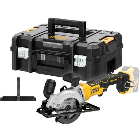 DCS571NT-XJ  115mm Circular Saw in Tstak (no batteries no charger)