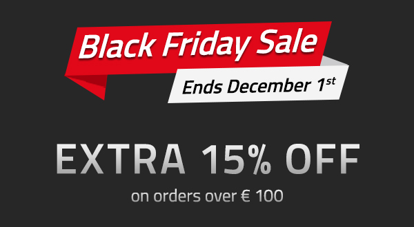 Black Friday Sale: Extra 15% OFF Everything!